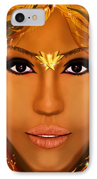 Jessica Alba Fairy Tale IPhone Case by Mathieu Lalonde