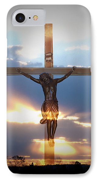 Jesus IPhone Case by Bill Cannon