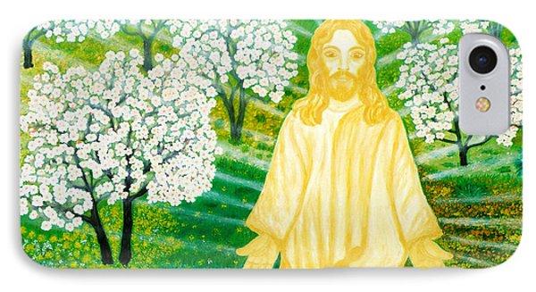 Jesus On Mount Thabor IPhone Case