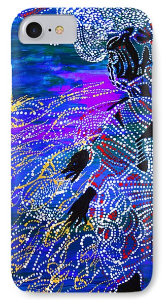 IPhone Case featuring the painting Jesus Reaps His Harvest by Gloria Ssali