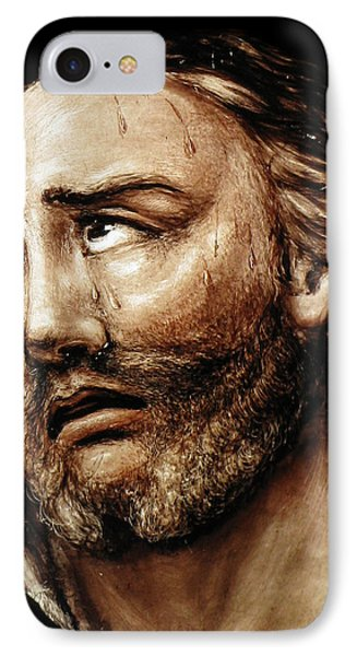Jesus Tears Phone Case by Munir Alawi
