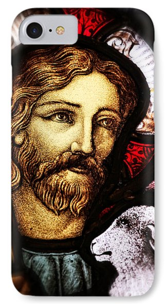 Jesus The Good Shepard IPhone Case by Verena Matthew
