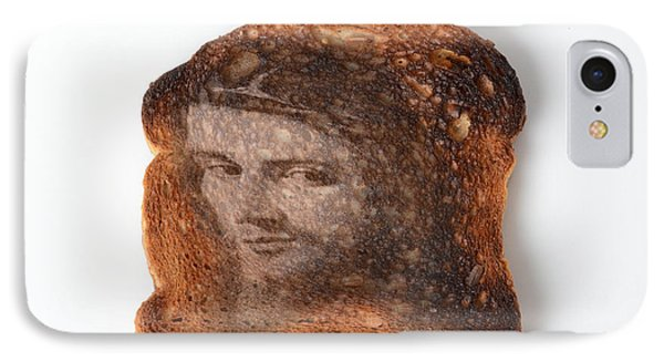 Jesus Toast Phone Case by Photo Researchers, Inc.