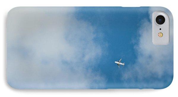 Jet Airplane In Flight Phone Case by Eddy Joaquim