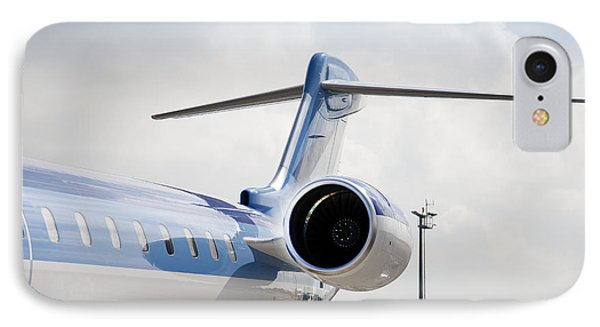 Jet Airplane Tail IPhone Case by Jaak Nilson