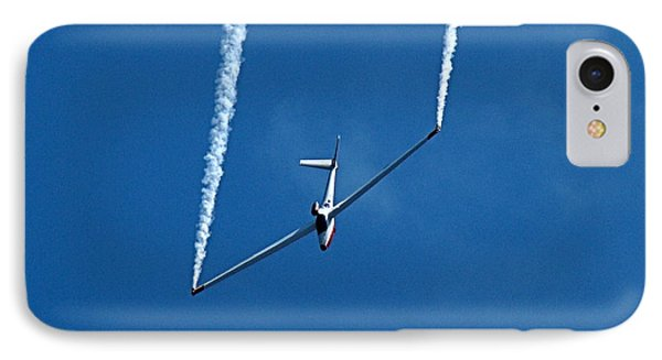 IPhone Case featuring the photograph Jet Powered Glider by Nick Kloepping
