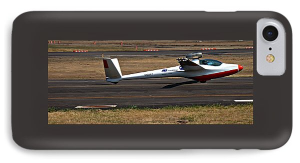 IPhone Case featuring the photograph Jet Powered Glider2 by Nick Kloepping