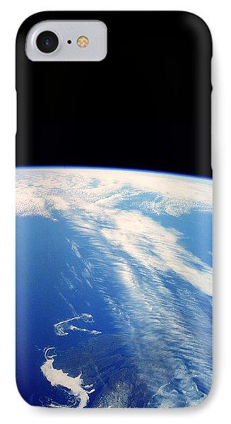 Jet Stream Clouds Phone Case by Nasa