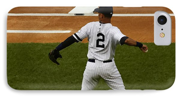 IPhone Case featuring the photograph Jeter by Michael Albright