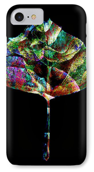 Jewel Tone Leaf Phone Case by Ann Powell