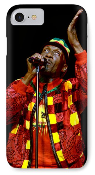 Jimmy Cliff IPhone Case by Jeff Ross