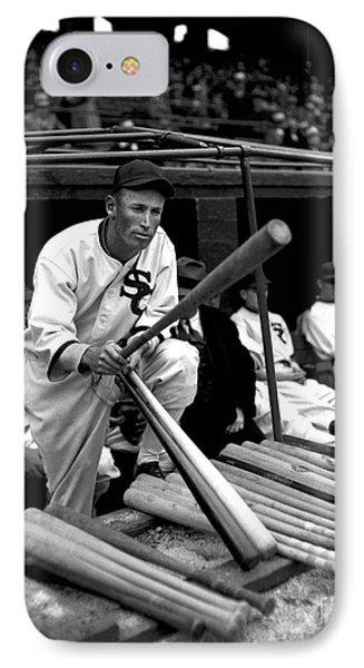 Joe Chamberlain - Chicago White Sox Phone Case by David Bearden