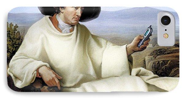 Johann Von Goethe, German Author Phone Case by Smetek
