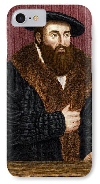 Johannes Kepler, German Astronomer Phone Case by Maria Platt-evans