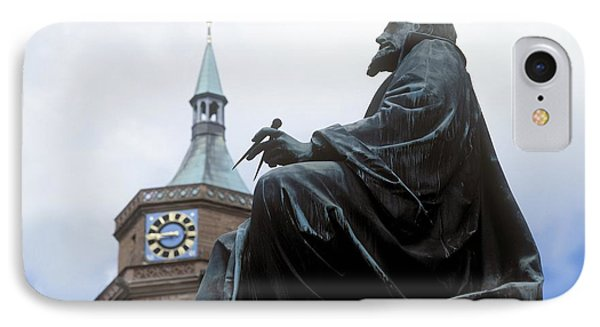 Johannes Kepler Monument, Germany Phone Case by Detlev Van Ravenswaay