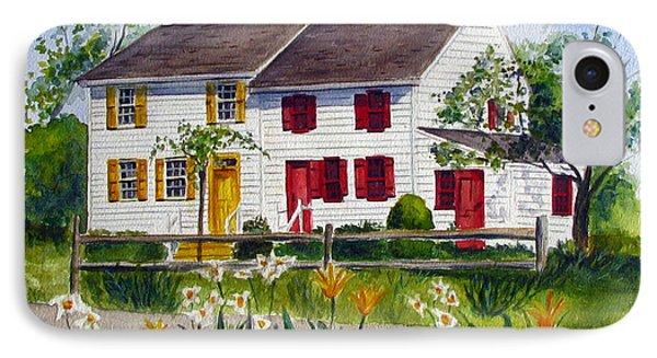 John Abbott House IPhone Case by Clara Sue Beym