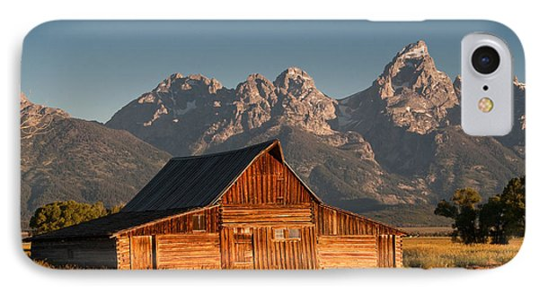 John And Bartha Moulton Barn Phone Case by Stuart Wilson and Photo Researchers