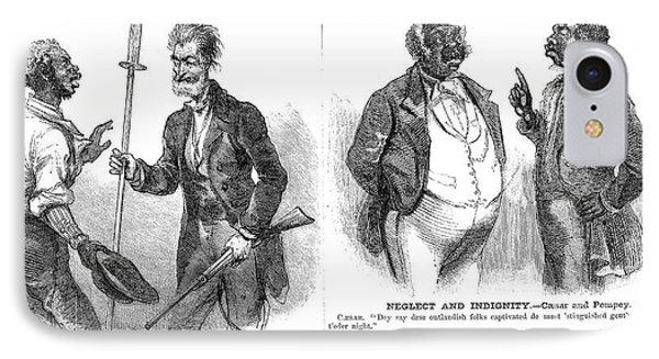 John Brown Cartoon, 1859 Phone Case by Granger