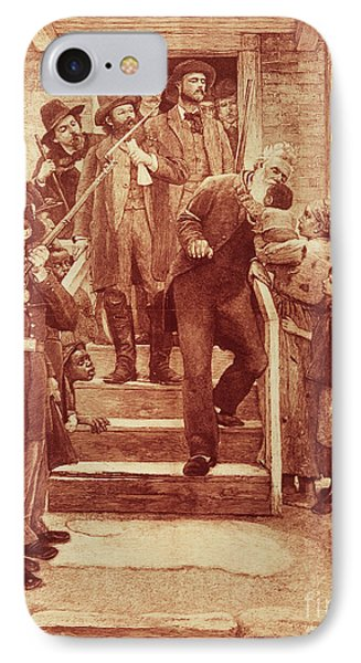 John Brown: Execution Phone Case by Granger