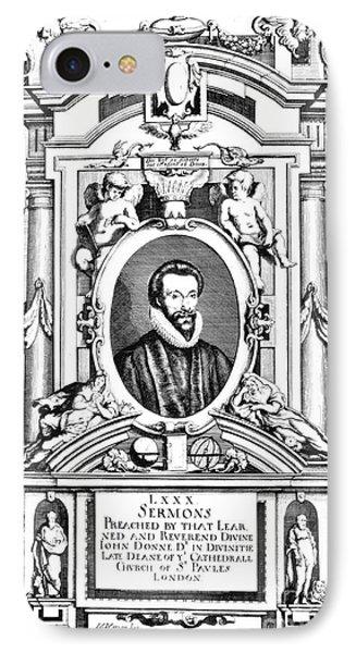 John Donne (1573-1631) Phone Case by Granger