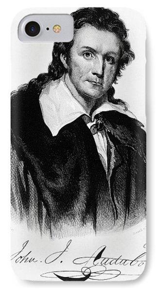 John James Audubon, French-american Phone Case by Photo Researchers, Inc.