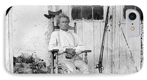 John L. Burns (1793-1872) Phone Case by Granger