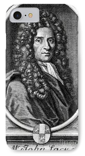 John Locke, English Philosopher, Father Phone Case by Science Source
