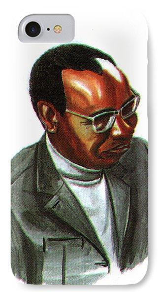 John Mbiti IPhone Case by Emmanuel Baliyanga