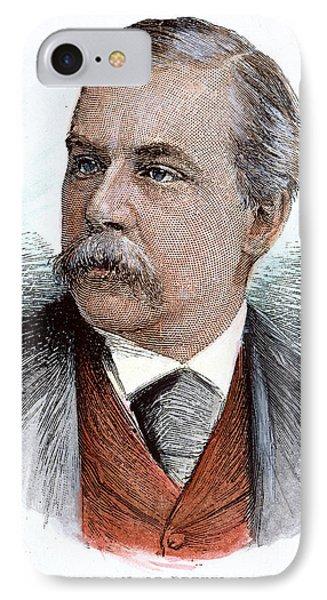 John Pierpont Morgan (1837-1913) Phone Case by Granger