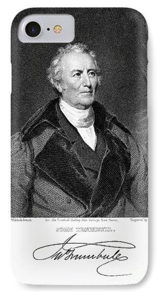 John Trumbull (1756-1843) IPhone Case by Granger