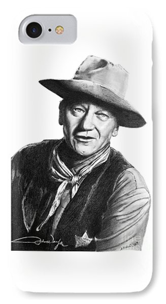 John Wayne  Sheriff IPhone Case