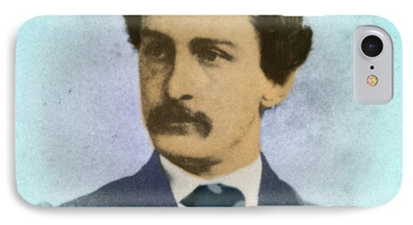 John Wilkes Booth, Assassin Phone Case by Photo Researchers