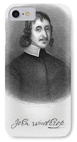 John Winthrop The Younger Phone Case by Granger