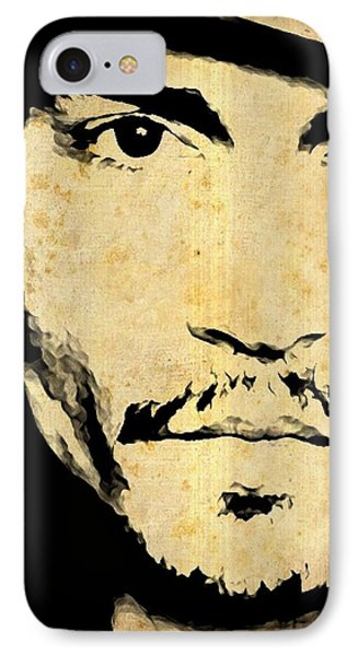 Johnny Depp - Up Close And Personal IPhone Case