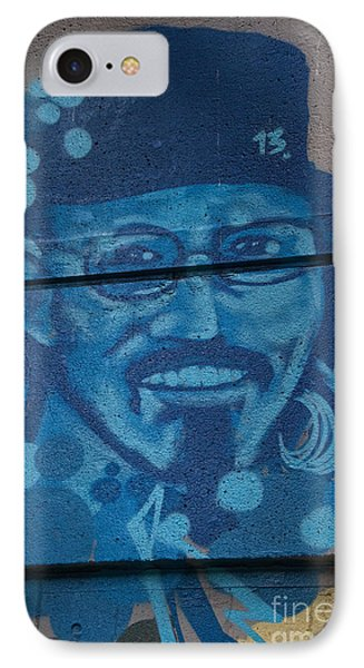 IPhone Case featuring the digital art Johnny On The Wall by Carol Ailles