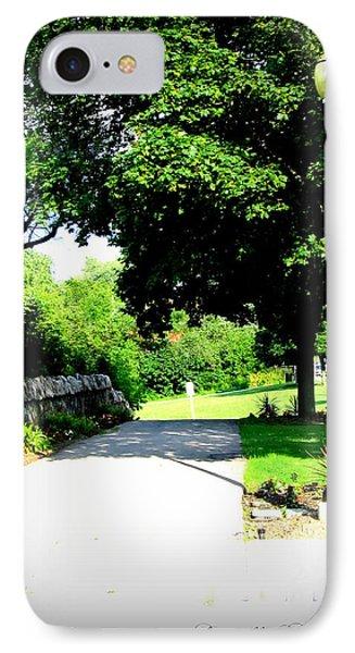 IPhone Case featuring the photograph Jollycut Park Walk by Danielle  Parent