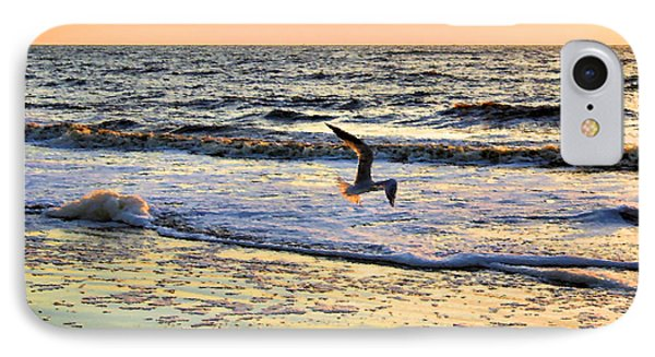 Jonathan Livingston Seagull IPhone Case by Kristin Elmquist