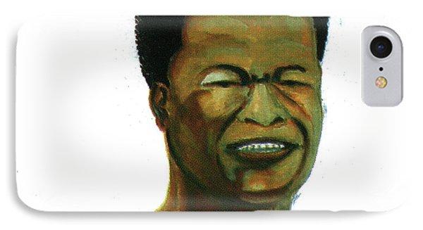 Jose Belo Chipenda Phone Case by Emmanuel Baliyanga