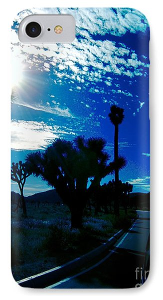 Joshua Tree IPhone Case by Tony Koehl