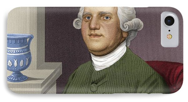 Josiah Wedgwood, British Industrialist Phone Case by Maria Platt-evans