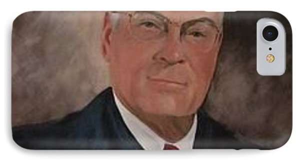 IPhone Case featuring the painting Judge J.s. Daniel by Carol Berning