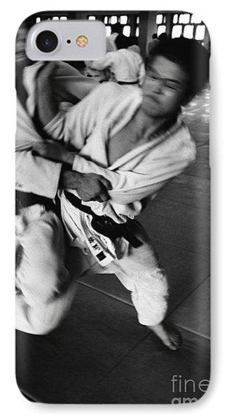 Judo Phone Case by Bernard Wolff