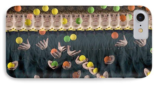 Juggler Phone Case by Ted Kinsman