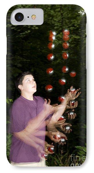 Juggling Balls IPhone Case