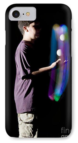 Juggling Light-up Balls IPhone Case
