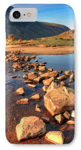 Jumping Stones Phone Case by Svetlana Sewell