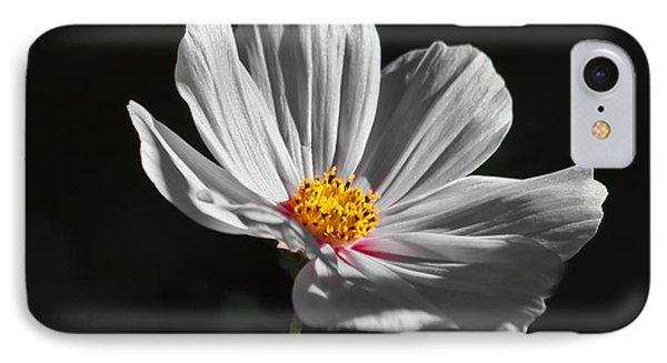 Just A Flower Phone Case by Mitch Shindelbower