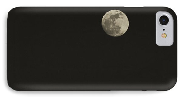 Just The Moon Phone Case by Roger Wedegis
