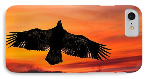 IPhone Case featuring the photograph Juvenile Sunset  by Randall Branham