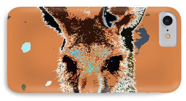 Kanga Roo Phone Case by David Lee Thompson